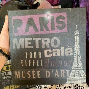 paris design wall print
